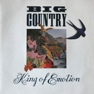 "Big Country - King Of Emotion  (7"") (EX/EX-)"